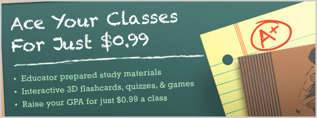High School Study Materials Flashcards and Quizzes
