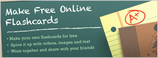 Make Free Flashcards