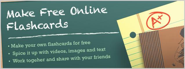 Make Free Flashcards
