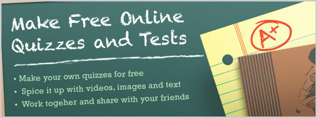 Make Free Quizzes